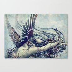 Zodiac Sign: Virgo Canvas Print