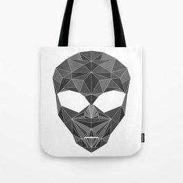 lowpolycyberalien Tote Bag