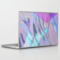 hologram Laptop & iPad Skins featuring bleu cheez by ARABELLA ART