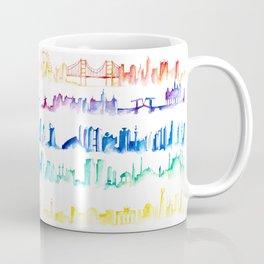 Skylines Across the World Coffee Mug