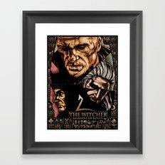 The Witcher 2 Framed Art Print
