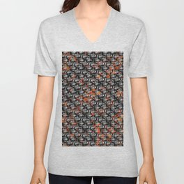 Rusting Chaos Wire Mesh Unisex V-Neck