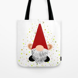 Santa - Gnome Tote Bag