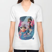 steven universe V-neck T-shirts featuring Steven Universe by David Pavon