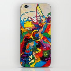 The Disintegration of a Highly Colored Fish Eye iPhone & iPod Skin