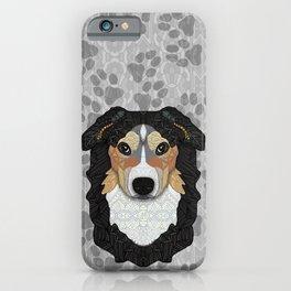 Zeke - mountain dog iPhone Case