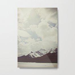 spray lake, kananaskis, alberta Metal Print