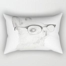 Study Bunny Rectangular Pillow