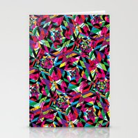 kaleidoscope Stationery Cards featuring KALEIDOSCOPE by Bianca Lopomo