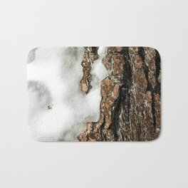 Icy Tree Bath Mat