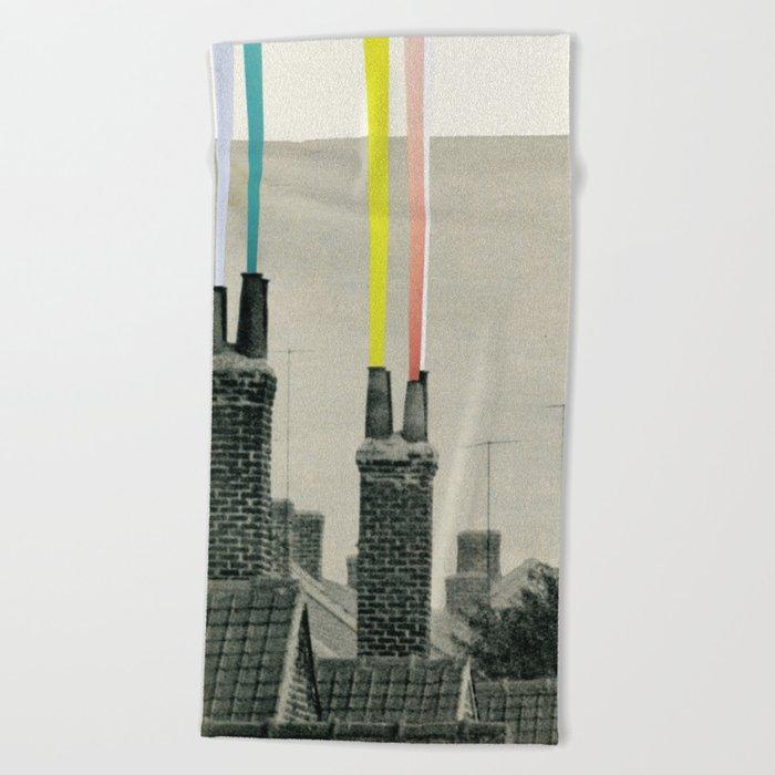 Smoke City Beach Towel