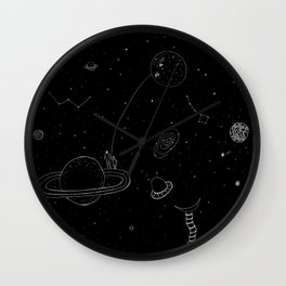 Cosmic Love Wall Clock