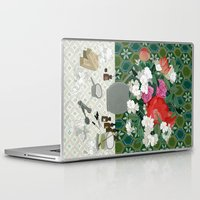perfume Laptop & iPad Skins featuring Making perfume by Yuliya