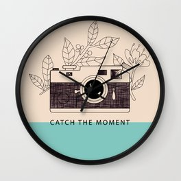 Catch the moment Wall Clock