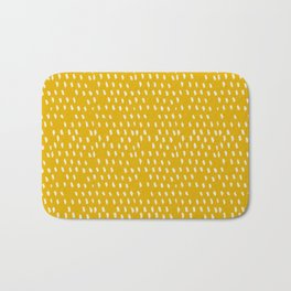Yellow Modernist Bath Mat