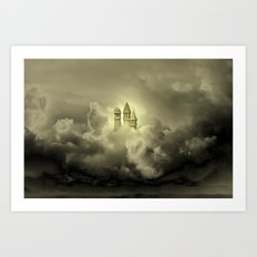 Golden Towers Art Print