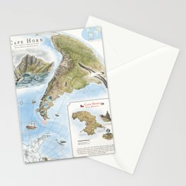 Cape Horn - Exploration AD 1616 Stationery Cards