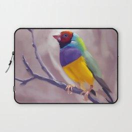 Gouldian Finch Laptop Sleeve