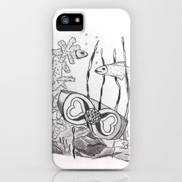 The Symbol of Eternal Love iPhone Case