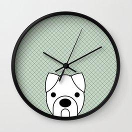 Pop Dog Boxer Wall Clock