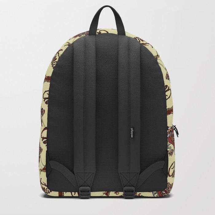 Pugs Christmas Backpack