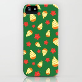 Tiki Birds Ice Cream Date iPhone Case