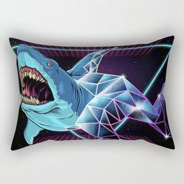 Shark 80s Rectangular Pillow