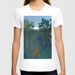 "Henri Rousseau ""The Repast of the Lion"", 1907 T-shirt"