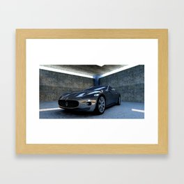 Sports car Framed Art Print