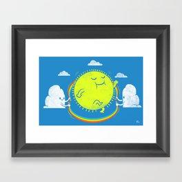 Double Dutch Champion Framed Art Print