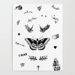 Harry's Tattoos Two Poster
