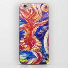 Galaxy Dancer iPhone Skin