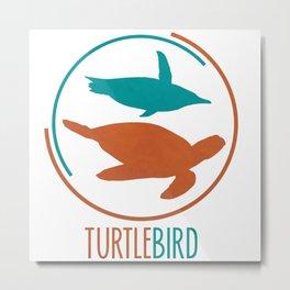 TurtleBird Logo Metal Print