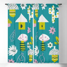 Spring games Blackout Curtain