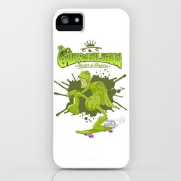 Chameleon iPhone Case