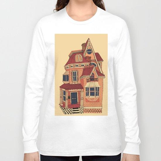 Victorian House Long Sleeve T-shirt