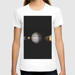 Solar System XXI T-shirt