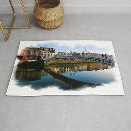 Dublin Ha'Penny Bridge Rug