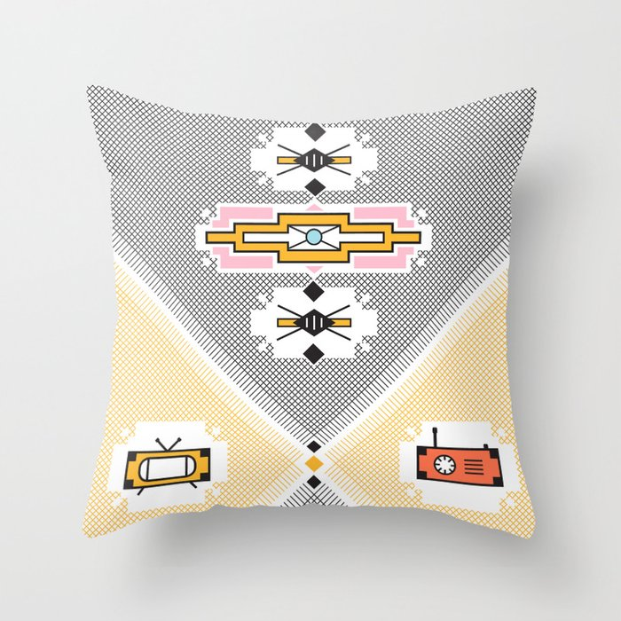 African Print Throw Pillow By Jeffersoncapetown Society6