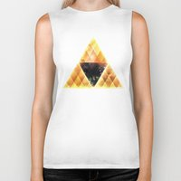 triforce Biker Tanks featuring Triforce by Spires