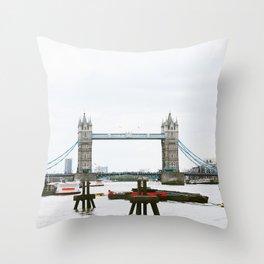 London Bridge (Ain't Falling Down) Throw Pillow