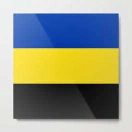 Flag of Gelderland Metal Print