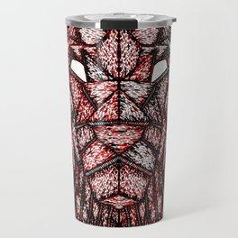 Lion Mask Travel Mug