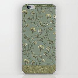 Dazed - Floral Pattern iPhone Skin