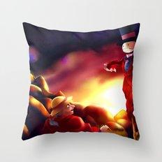 Turnip Head Throw Pillow