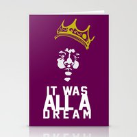 notorious Stationery Cards featuring Notorious! by JM Designs