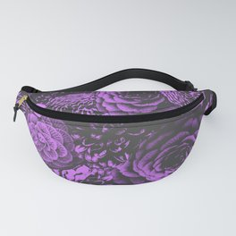 Moody Florals in Purple Fanny Pack
