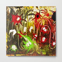 abstraction. fireworks Metal Print