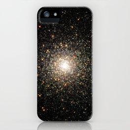 NASA Telescope View Of Globular Cluster of Stars Night Sky Astronomy Space iPhone Case