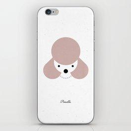 Pedigree: Poodle iPhone Skin